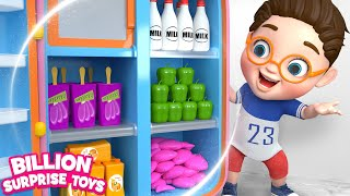 Download Baby Learn with Refrigerator Food Toys - Songs & Animation for Kids Video