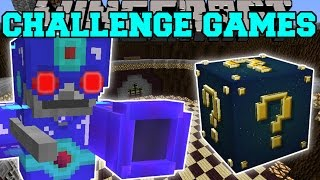Download Minecraft: SKELETRON CHALLENGE GAMES - Lucky Block Mod - Modded Mini-Game Video