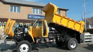 Download 1995 Ford F-Series F800 Tandem 4x4 Cummins Diesel Dump Truck Video