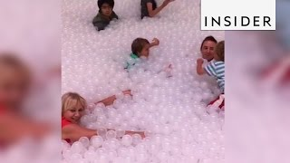 Download People are going crazy over this giant ball pit in Australia Video