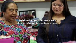 Download Designing clothes that fit kids with Down syndrome in Guatemala Video