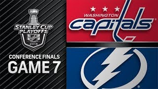 Download Washington Capitals vs Tampa Bay Lightning – May. 23, 2018 | Game 7 | Stanley Cup 2018. Обзор Video