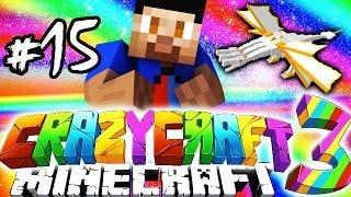 Download Minecraft Mods: CRAZY CRAFT #15 'QUEEN vs PACMAN!' with Vikkstar Video