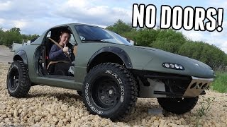 Download Lifted Miata Loses its Doors! Video