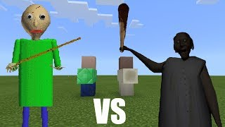 Download Baldi vs Granny | Minecraft PE Video