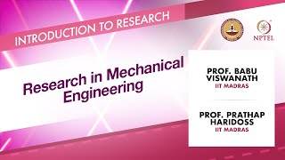 Download Research in Mechanical Engineering Video