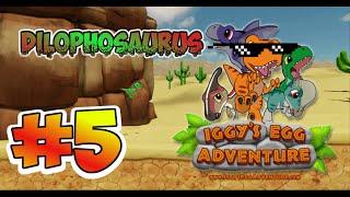 Download EL REY SCORPION Y EL DILOPHOSAURUS - Iggy´s Egg Adventure #5 Video