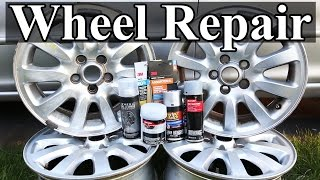 Download How to Repair Wheels with Curb Rash and Scratches Video
