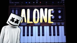 Download Marshmello - Alone (GARAGEBAND TUTORIAL) Video