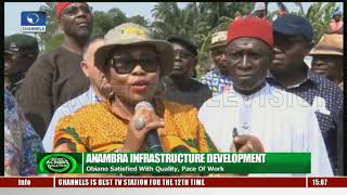 Download Anambra Infrastructure Devt: Obiano Satisfied With Quality Of Work Video