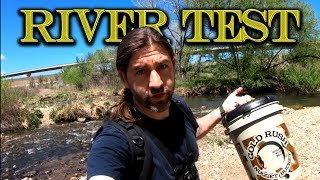 Download River Testing the Gold Rush Nugget Bucket Video