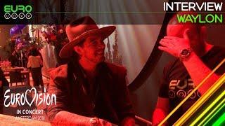 Download Waylon Interview (Netherlands Eurovision 2018) | Eurovision in Concert | Eurovoxx Video
