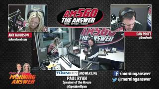 Download House Speaker Paul Ryan talks tax reform with Dan and Amy Video