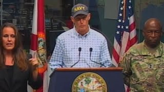 Download Florida Gov. Rick Scott warns residents about Tropical Storm Michael Video