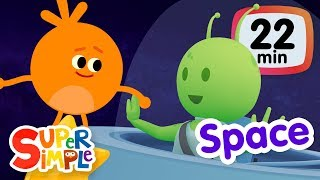 Download The Super Simple Show - Space! | Kids Songs & Cartoons About The Sun, Planets, Stars & More! Video