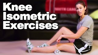 Download Knee Isometric / Knee Setting Exercises - Ask Doctor Jo Video