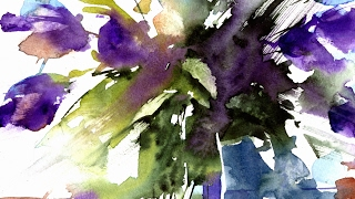 Download Loose Watercolours ' Spring Time' with Andrew Geeson Video