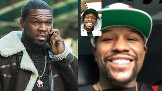 Download 50 Cent Sends Goons To Floyd Mayweather After He Facetimes 50 Cent's Son Video