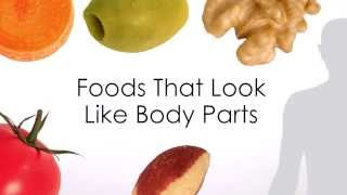 Download Foods That Look Like Body Parts Give Clues To Their Health Benefits Video