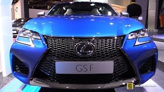 Download 2017 Lexus GS-F - Exterior and Interior Walkaround - 2016 Paris Motor Show Video