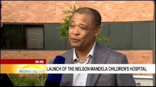 Download RMHC involvement in building Nelson Mandela Children's Hospital Video