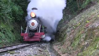 Download Maria Fumaça 232 em Apiúna/SC - Brasil (steam locomotive) Video