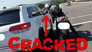 Download BIKERS SMASHING MIRRORS | CRAZY ROAD RAGE COMPILATION | [Ep. #127] Video