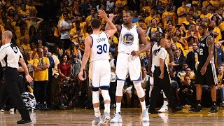 Download Stephen Curry and Kevin Durant Combine for 74 In Game 1! | May 14, 2017 Video