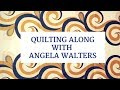 Download Join Angela Walters for a Brand New Free-Motion Quilting Along: Machine Quilting Feathers Video
