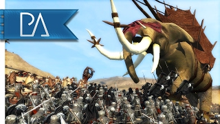 Download Winds of Harad: Epic Rebellion Battle against Mordor - Third Age Total War Mod Gameplay Video