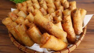 Download Cách làm CHẢ GIÒ CHAY VÀNG THƠM GIÒN RỤM - Món Ăn Ngon Video
