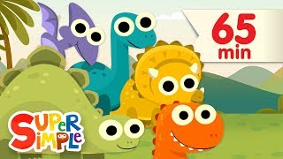 Download 10 Little Dinosaurs + More | Kids Songs | Super Simple Songs Video