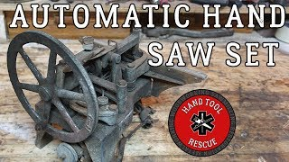 Download 1940s Automatic Hand-Saw Set [Restoration] Video
