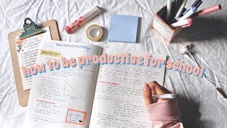 Download How to Stay Productive + Be Motivated for School | Vanessa Tiiu Video