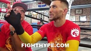 Download VASYL LOMACHENKO SHREDS MIKEY GARCIA'S WIN OVER BRONER; EXPLAINS FLAWS & WHY HE ″DON'T LIKE IT″ Video