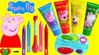 Download Preschool Learning Video Learn Colors Peppa Pig Play with Paints Video