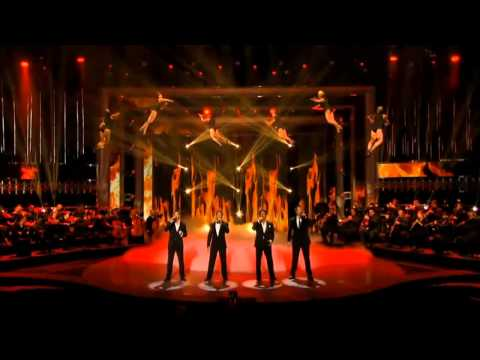 America's Got Talent - Il Divo - Wicked Game (Melanconia)