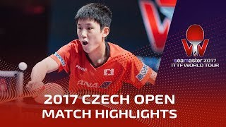 Download 2017 Czech Open Highlights: Timo Boll vs Tomokazu Harimoto (Final) Video