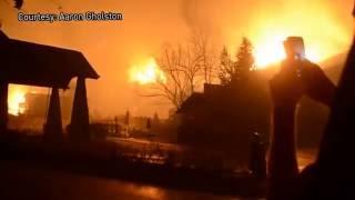 Download Flames take over Westgate Resort in Gatlinburg Video