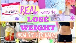 Download REAL ways to LOSE WEIGHT | Healthy Life Hacks Video
