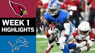 Download Cardinals vs. Lions | NFL Week 1 Game Highlights Video