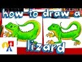 Download How To Draw A Realistic Lizard Video