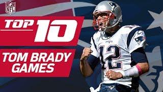 Download Top 10 Tom Brady Games... So Far   NFL Films Video