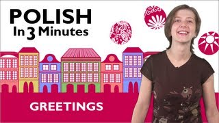 Download Learn Polish - Polish in 3 Minutes - How to Greet People in Polish Video