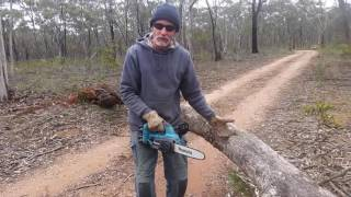 Download Makita battery chain saw . incredible Video