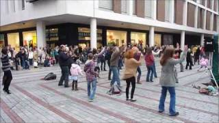 Download Exeter Flash Mob - Saturday Night Fever - 29th Oct 2011 Video