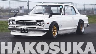 Download HAKOSUKA Nissan Skyline GTR - Revs and Sound Video