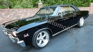 Download 1967 Chevrolet Chevelle SS triple black, for sale Old Town Automobile in Maryland Video