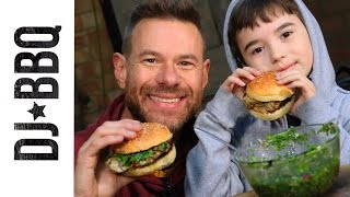 Download CHICKEN BURGERS WITH CHIMICHURRI SAUCE Video