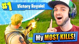 Download My MOST KILLS on Fortnite: Battle Royale EVER!! Video